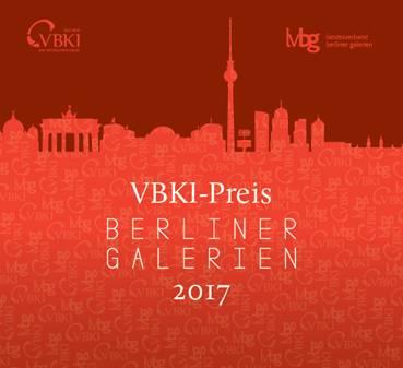 VBKI-Preis BERLINE GALERIEN 2017