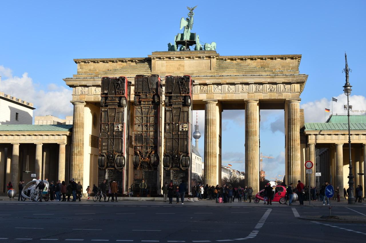 """Monument"" 2017, Berlin © Foto: Manaf Halbouni"