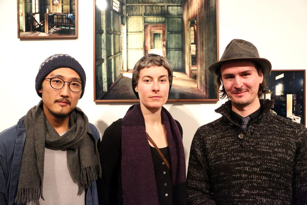 Walter Yu, Yvon Chabrowski, Manaf Halbouni (v.l.n.r.) - Foto: Holger Biermann, Berlin